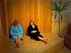 relax v sauně SPorthotelu Barborka