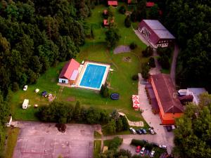 areál Sporthotelu Barborka, Hluboká nad Vltavou