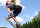 tip aktivní dovolená - skate