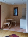 kuchyňka v chatce