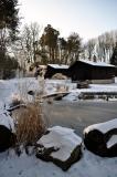 chatky přes rybníček